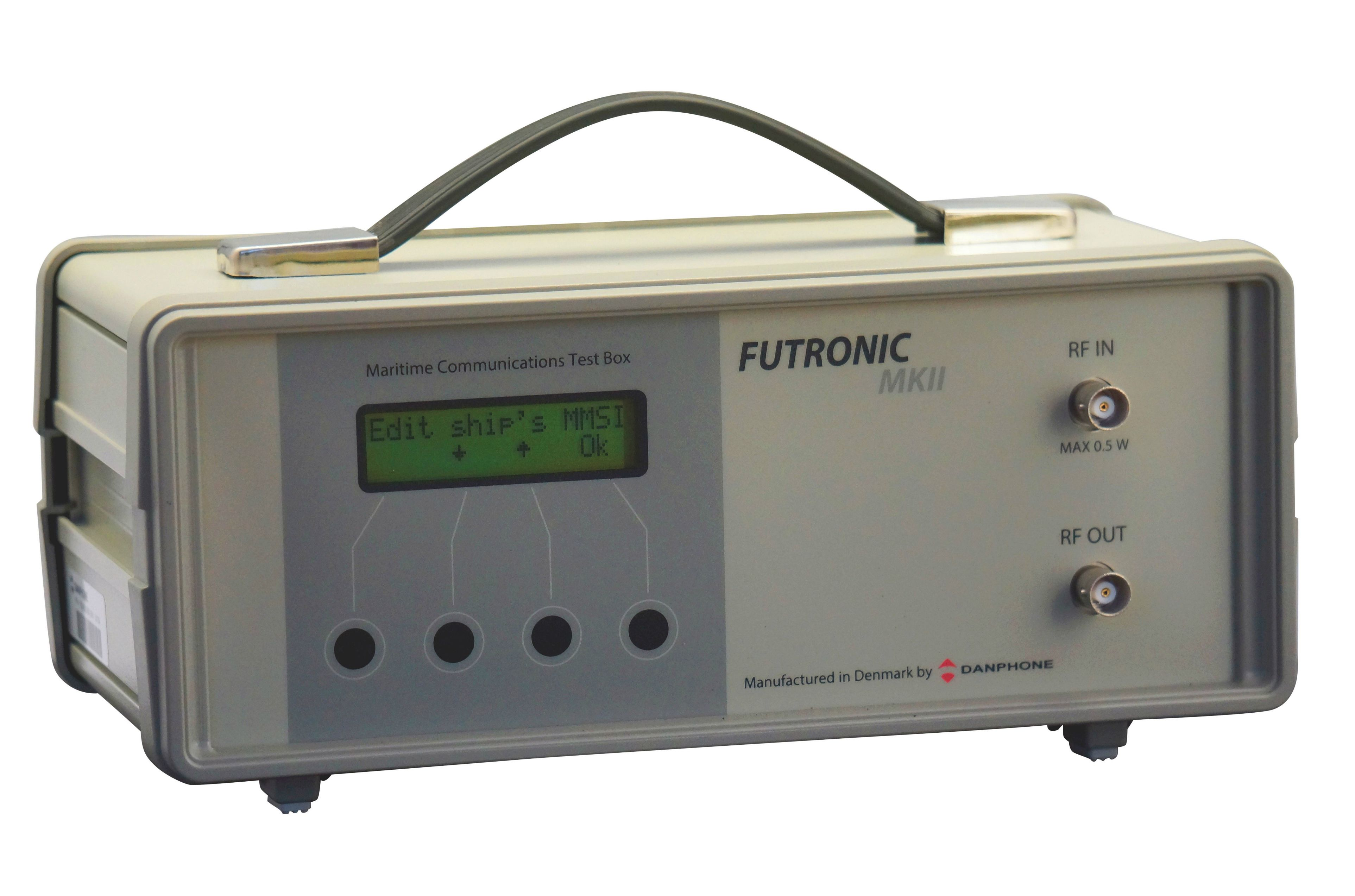 Futronic GMDSS test equipment